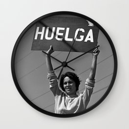Chicana Activist Hall of Fame Wall Clock