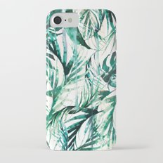 Green Tropical paradise  Slim Case iPhone 7