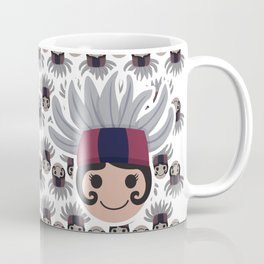 Iconic Headdresses - East Kalimantan (Borneo) Coffee Mug