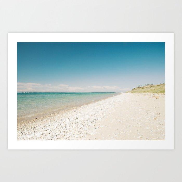 Seaside Manitou Island Art Print