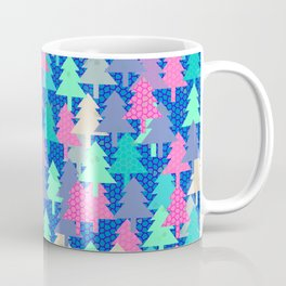Colorful fir pattern II Coffee Mug