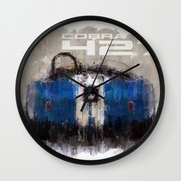 Shelby Cobra 427 Wall Clock