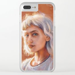 Tanya I Clear iPhone Case