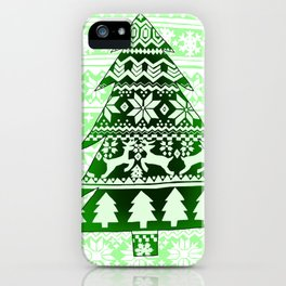 Christmas Artwork #14 (2017) iPhone Case