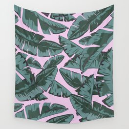 Plantain Tropic III Wall Tapestry