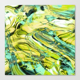 ABSTRACT COLORFUL PAINTING III Canvas Print