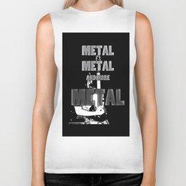 Metal, Metal and More Metal Biker Tank