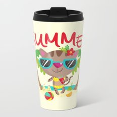 Hello, summer Metal Travel Mug