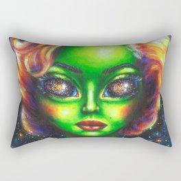 Iconic Alien Women: Marilyn Rectangular Pillow