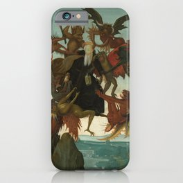 Michelangelo Buonarroti / The Torment of Saint Anthony / iPhone Case