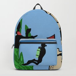 Fish Bowl Divers Backpack