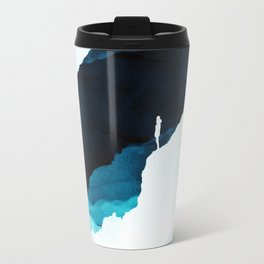 Teal Isolation Travel Mug