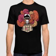 disastrosmoke Black SMALL Mens Fitted Tee