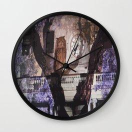 Owls in the Clocktower Wall Clock