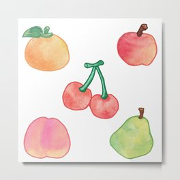 Animal Crossing Fruit New Horizons Metal Print