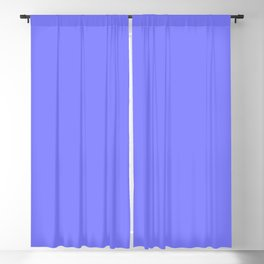 Simply Periwinkle Solid Color  Blackout Curtain