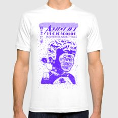 adventures in cucacolor White Mens Fitted Tee MEDIUM