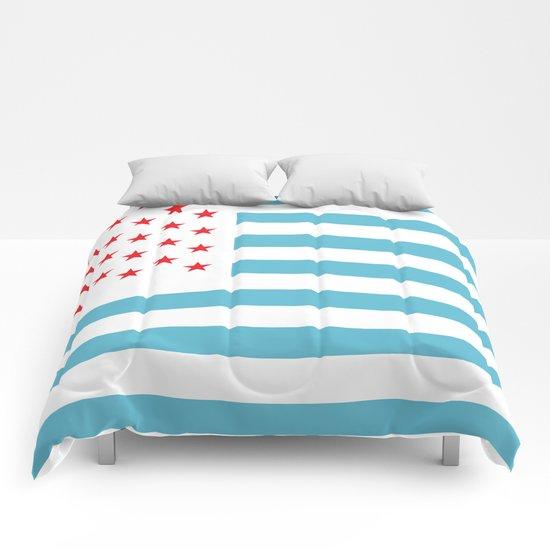 U.S.A. Flag Modified Comforters