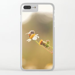 A CUTE MORNING Clear iPhone Case