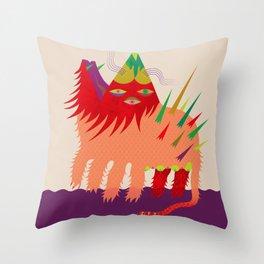 Anfibio Tarasco Throw Pillow