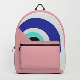 Devil eye pink hide Backpack