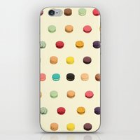 macaron iPhone & iPod Skins featuring Macaron Fest by Electric Avenue