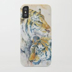 Tigers iPhone X Slim Case