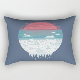 The Great Thaw Rectangular Pillow