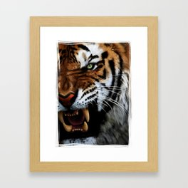 Some things that are so beautiful can kill with finesse Framed Art Print