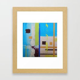 space Framed Art Print
