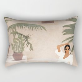 Graceful Resting II Rectangular Pillow