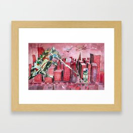 AdZilla Framed Art Print