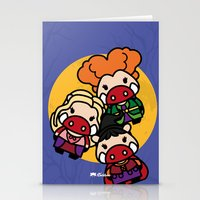 hocus pocus Stationery Cards featuring Hocus Pocus by worldboar