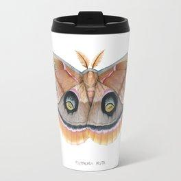 Polyphemus Moth Travel Mug