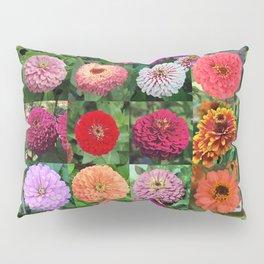 Zinnia Montage Pillow Sham