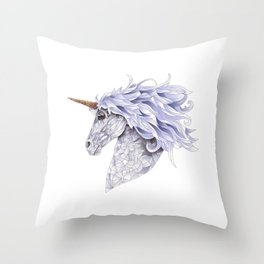 Celina the Unicorn Throw Pillow