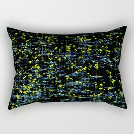 Pond - yellow flowers Rectangular Pillow