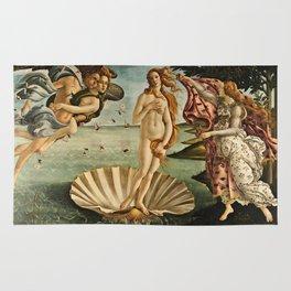 Sandro Botticelli - The Birth Of Venus Rug