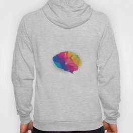 Geometric brain Hoody