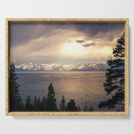 Changing Seasons at Lake Tahoe Serving Tray