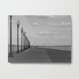 New Bedford Pier Metal Print