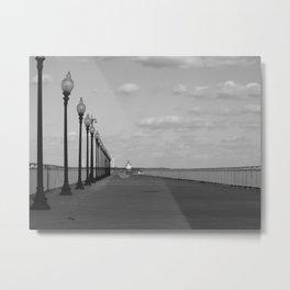 New Bedford Pier Metal Print
