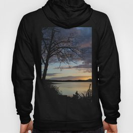 Lake Quinault Sunset, Washington Hoody