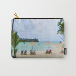 A Dreamy Day at a Tahitian Beach, Bora Bora Carry-All Pouch