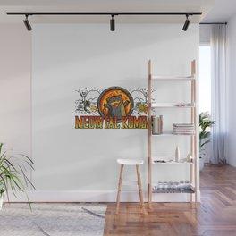 Meowtal Kombat Wall Mural