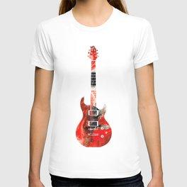 Bass Guitar - Buy Colorful Abstract Musical Instrument T-shirt