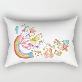 Happy Holiday Rectangular Pillow