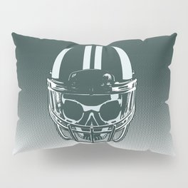Final Touchdown - FADED CERULEAN Pillow Sham