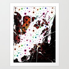 Candy Coated Sin Art Print