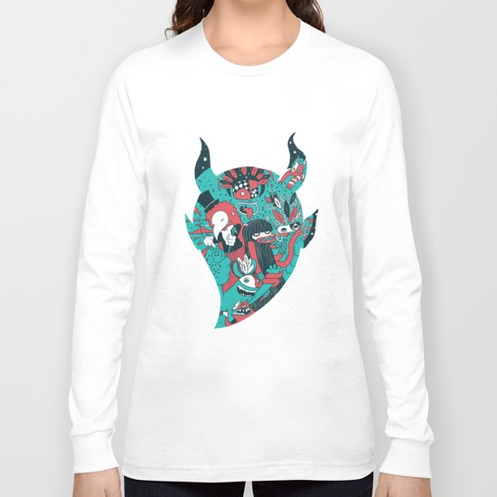 Monster Masquerade Long Sleeve T-shirt